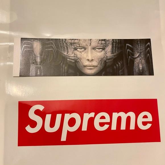 Supreme HR Giger box logo sticker